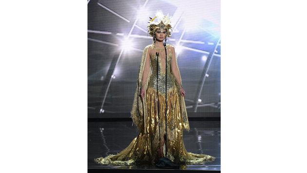 """Miss Russia"" Vladislava Evtushenko (Bild: APA/EPA/MIKE NELSON)"