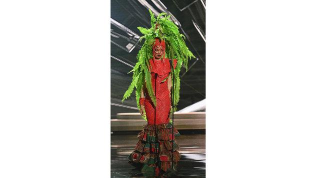 """Miss Nigeria"" Debbie Collins (Bild: APA/EPA/MIKE NELSON)"