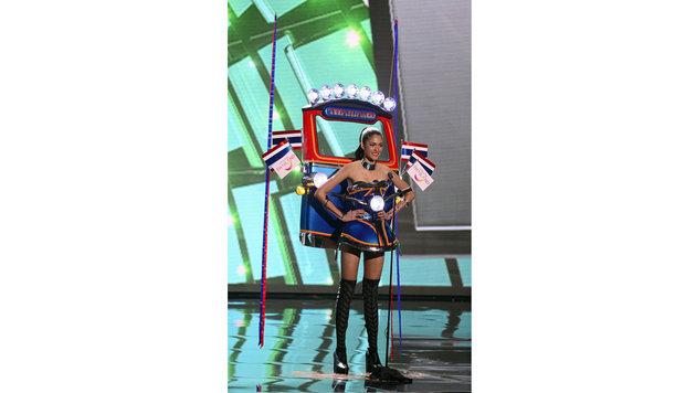 """""""Miss Thailand"""" Aniporn Chalermburanawong (Bild: APA/EPA/MIKE NELSON)"""