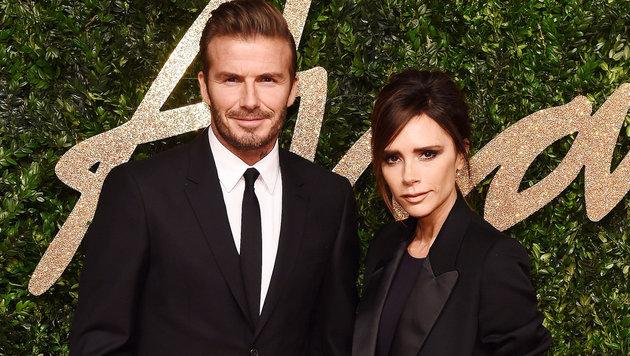 David und Victoria Beckham (Bild: Viennareport)