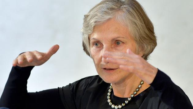 Irmgard Griss kann sich Ministeramt vorstellen (Bild: APA/HERBERT NEUBAUER)