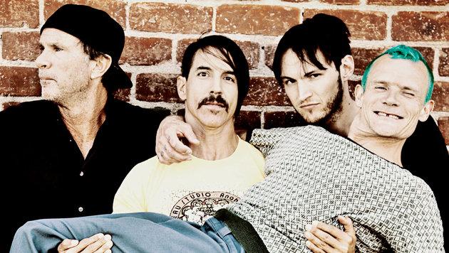 Red Hot Chili Peppers kündigen neues Album an (Bild: Warner Brothers)