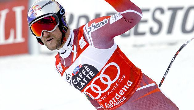 Super-G in Gröden: Triple-Sieg für Norwegen (Bild: AP)