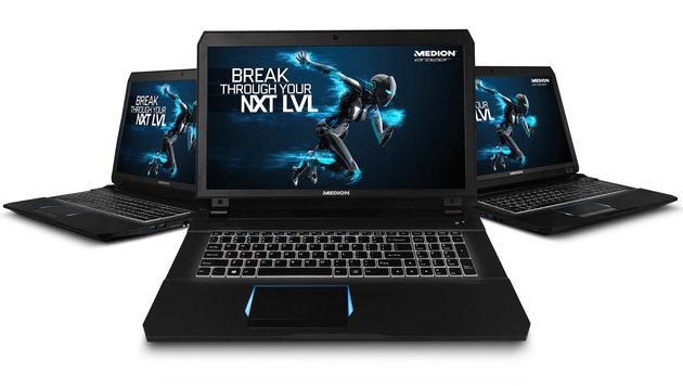 Medion X7842: Der Gaming-Laptop von Hofer im Test (Bild: Medion)