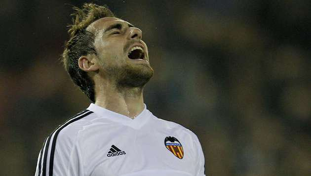Video: Rapid-Gegner Valencia enttäuscht zuhause (Bild: AP)