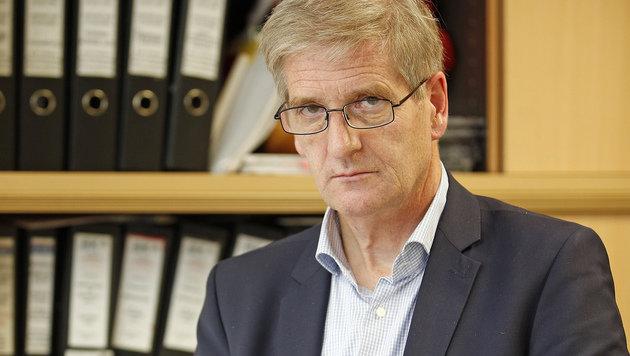 Kurt Linzer, Leiter der Cold-Case-Abteilung im BK (Bild: Reinhard Holl)