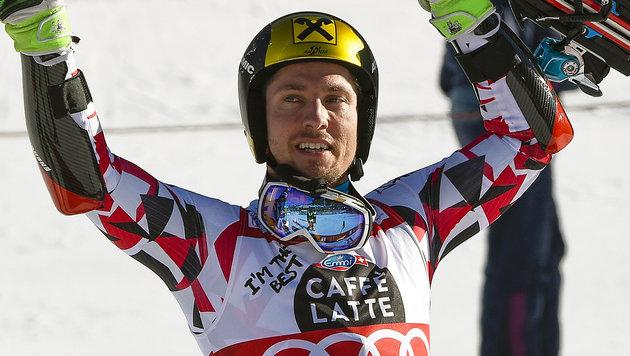 Hirschers Sieger-Ski von Alta Bada ist aufgetaucht (Bild: AFP)