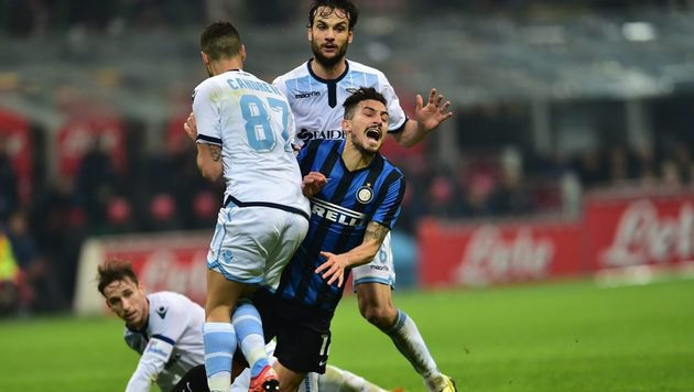 Inter patzt gegen Lazio, Verfolger souverän (Bild: AFP)