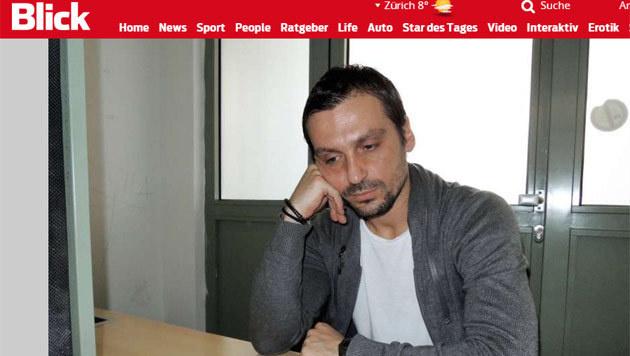 Sanel Kuljic im Gefängnis: So sieht er heute aus (Bild: Screenshot blick.ch)