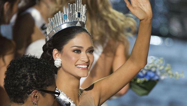 Die echte Siegerin, Pia Alonzo Wurtzbach (Bild: AFP/Valerie Macon)