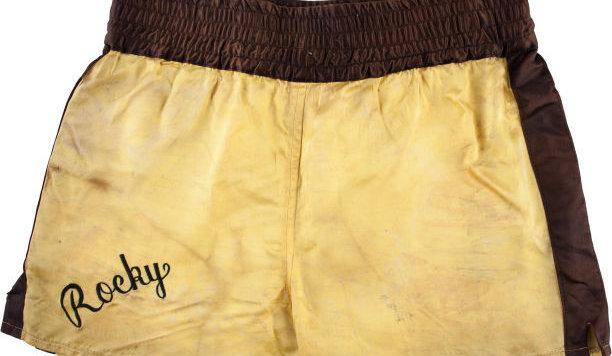 """Auch diese Boxershorts aus """"Rocky III"""" kamen unter den Hammer. (Bild: HA.com)"""