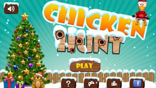 """7 Weihnachts-Apps, bei denen die Bells jinglen (Bild: Chicken Hunt)"""