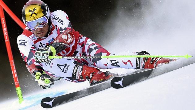 Hirschers Riesentorlauf-Ski womöglich gestohlen (Bild: APA/AFP/OLIVIER MORIN)