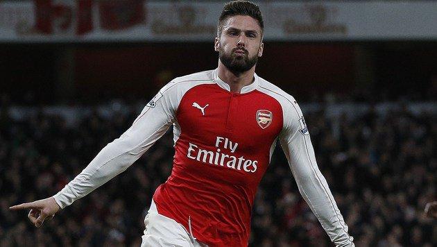 ManCity besiegt! Arsenal bleibt an Fuchs-Klub dran (Bild: APA/AFP/ADRIAN DENNIS)