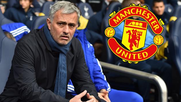 Manchester United nimmt Kontakt zu Mourinho auf (Bild: AFP)