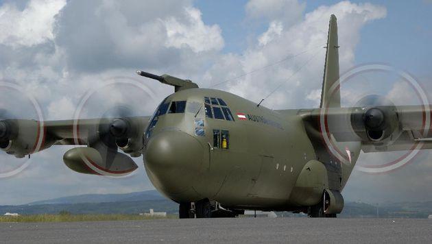 Eine der drei Lockheed C-130 Hercules des Bundesheeres (Bild: BMLV)