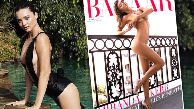 Miranda Kerr: Ärger wegen Nacktbild (Bild: Viennareport)