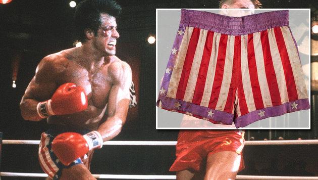 Sylvester Stallone verkauft Schmuddel-Boxershorts (Bild: ha.com, Viennareport)