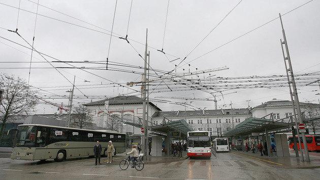 Bombendrohung am Salzburger Bahnhof - Festnahme (Bild: Andreas Tröster)