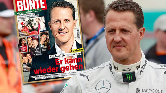 """Kann wieder gehen"": Wirbel um Schumacher-Bericht (Bild: Gepa, bunte.de)"