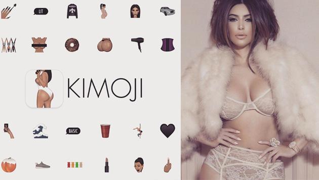 Kim Kardashian gibt es ab sofort auch als Emoji (Bild: instagram.com/kimkardashian)