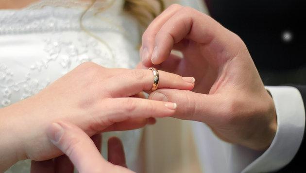 """Österreicher sagten 2015 öfter """"Ja"""" zur Ehe (Bild: thinkstockphotos.de)"""