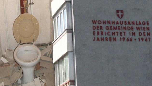 Wiener Mieter musste Wohnung vor Auszug demolieren (Bild: Wilhelm M., Andi Schiel)