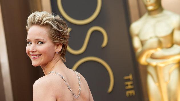 Jennifer Lawrence bei der Oscar-Verleihung im Jahr 2014 (Bild: Viennareport)
