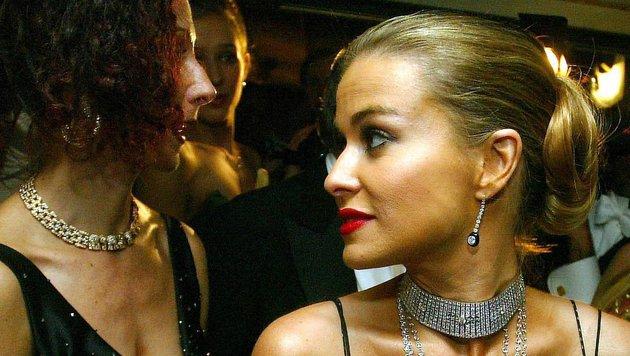 50. Wiener Opernball 2006: Mausi Lugner und Carmen Electra (Bild: APA)