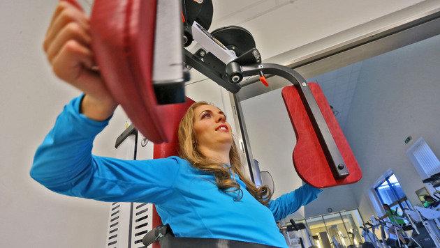 Kira beim Training (Bild: Christof Birbaumer)