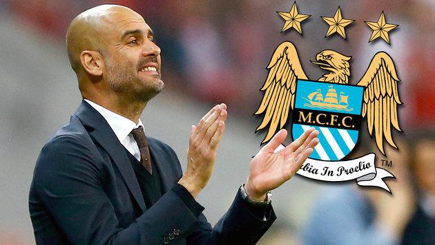 Mega-Gehalt! So viel casht Guardiola bei ManCity (Bild: AP, mcfc.co.uk)