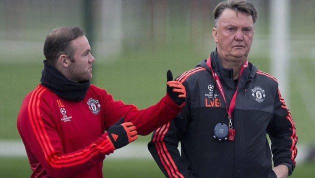 """Rooney versichert: """"Wir kämpfen für Van Gaal"""" (Bild: AFP)"""