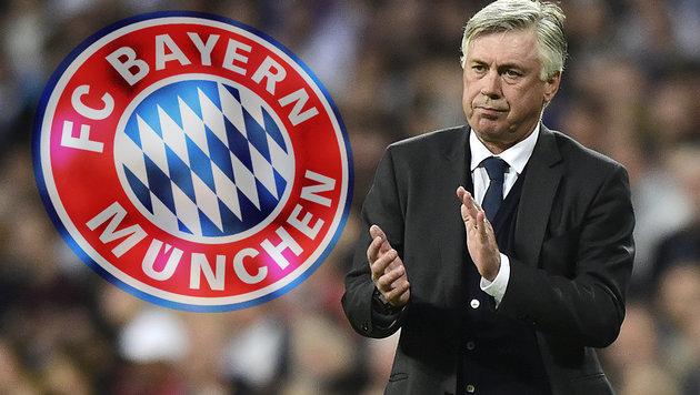 Holt Carlo Ancelotti diese 3 Stars zu den Bayern? (Bild: APA/AFP/JAVIER SORIANO)