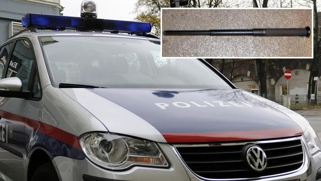 Schlagstock-Attacke bei Würstelstand - 2 Verletzte (Bild: LPD Wien, Andreas Graf)