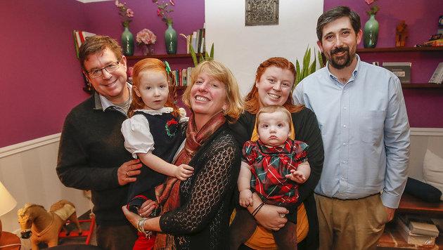 Wells und ihre Familie (Bild: Markus Tschepp)