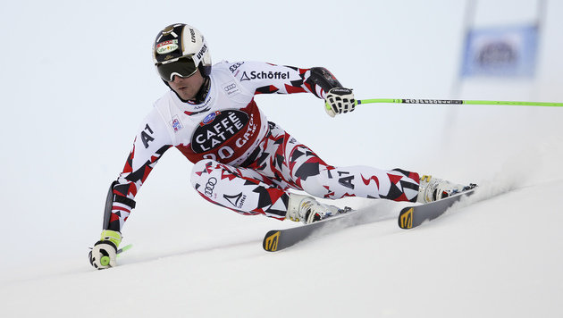 Hannes Reichelt im 1. Santa-Caterina-Training top (Bild: AP)