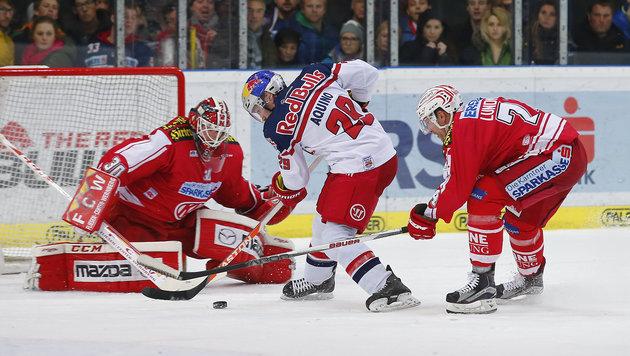 Salzburg weist KAC mit 5:2 in die Schranken (Bild: GEPA pictures)