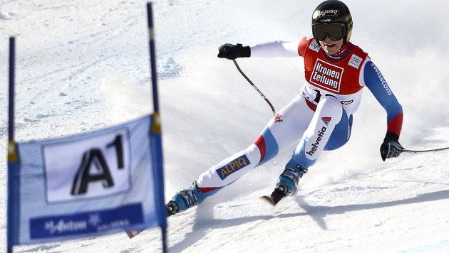 Schneemangel! Damen-Rennen in St. Anton abgesagt (Bild: APA/ROBERT JAEGER)