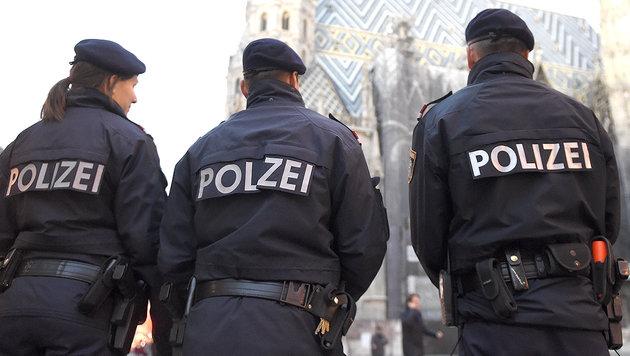 "Wiener Polizei nimmt Bedrohung ""sehr ernst"" (Bild: APA/HELMUT FOHRINGER/picturedesk.com)"