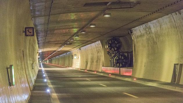 Der Bosrucktunnel wird weiter repariert (Bild: Foto Jack Haijes, Weinmeisterstra§e 9, 4560 Kirchdorf/Krems, …st)