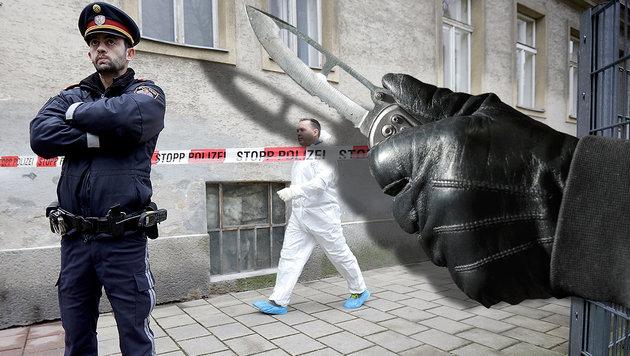 Mehr als doppelt so viele Tötungsdelikte in Wien (Bild: APA/Georg Hochmuth, thinkstockphotos.de)