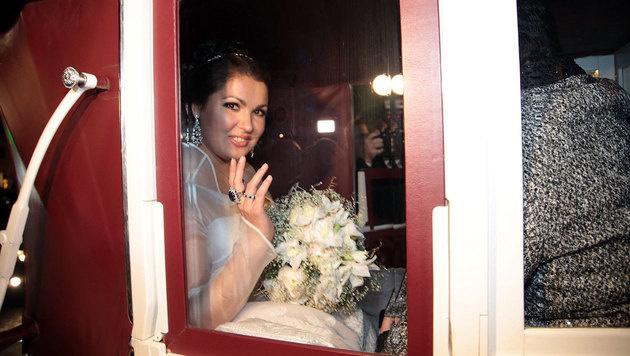 So pompös heiratete Anna Netrebko in Wien (Bild: Starpix/Alexander Tuma)