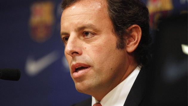 Barcelona-Präsident Sandro Rosell (Bild: GEPA)