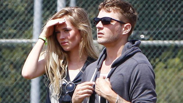 Ryan Phillippe mit seiner Verlobten Paulina Slagter (Bild: Viennareport)