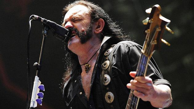 So nimmt die Musikwelt im Netz Abschied von Lemmy (Bild: CLEMENS BILAN/AFP/picturedesk.com)