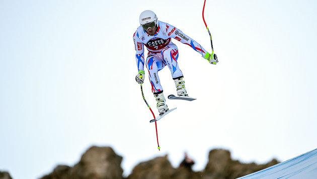 Theaux gewinnt Abfahrts-Spektakel vor Reichelt! (Bild: APA/AFP/OLIVIER MORIN)
