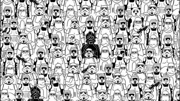 """""""Finde den Panda: Suchspiel wird immer schwieriger (Bild: Bored.Panda)"""""""