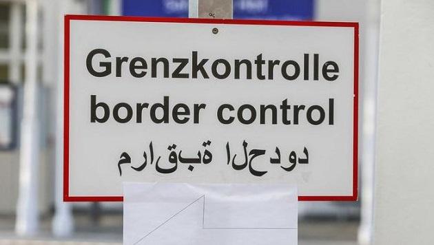 Durch die Flüchtlingswellle werden am Bahnhof Salzburg Grenzkontrollen durchgeführt. (Bild: Markus Tschepp)