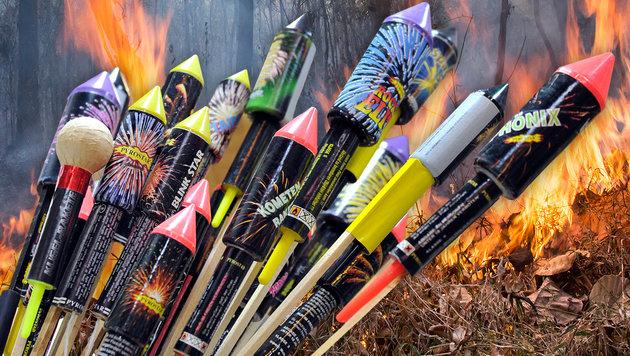 Feuerwerk jetzt auch in ganz Tirol verboten (Bild: thinkstockphotos.de, APA/HANS PUNZ)