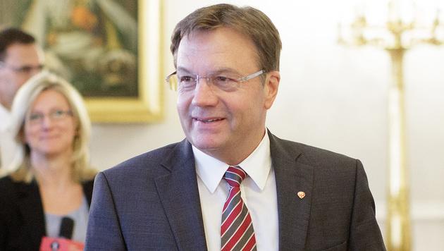 Günther Platter (Bild: APA/GEORG HOCHMUTH)